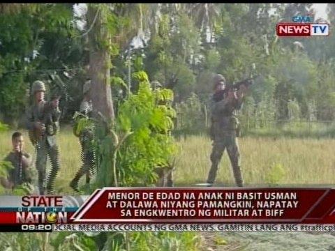 SONA: BIFF, sinubukang bawiin ang kuta nilang nakubkob na ng militar