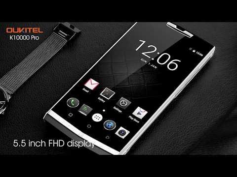 Oukitel K10000 PRO Mobile от $170 до $219