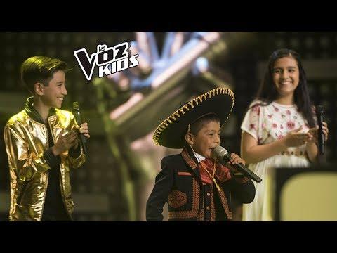 David Tarapues, Nana y Juan David cantaron en la Súper Batalla de Yatra | La Voz Kids Colombia 2018