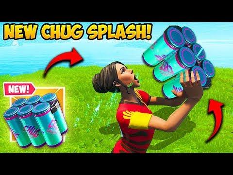 *NEW* CHUG SPLASH IS AMAZING! - Fortnite Funny Fails and WTF Moments! #592