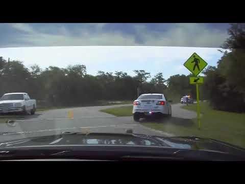 Dash cam footage