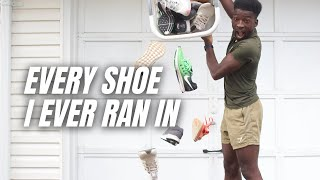 my running shoe collection | every shoe I ever ran in over 3 years