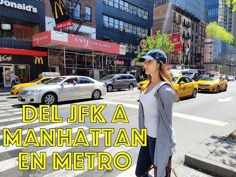 Cómo ir del aeropuerto de New York a Manhattan (low cost) | Tips viajes