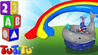 TuTiTu Englisch Lernen | Farben lernen auf Englisch für Kinder | Badespielzeuge