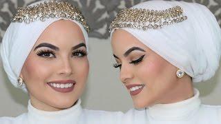 WEDDING HIJAB TUTORIAL (UPDATED)