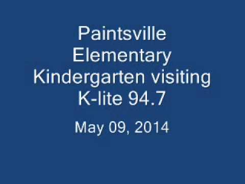 PES Kindergarten at K-lite 94.7 - 2014