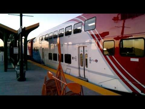 Coach 212 in revenue service at the Ogden Transit Center.
