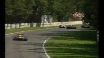 F1 1991 Hockenheim - 2 viimeistä kierrosta (YLE)