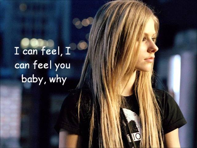 Why Avril Lavigne lyrics #1
