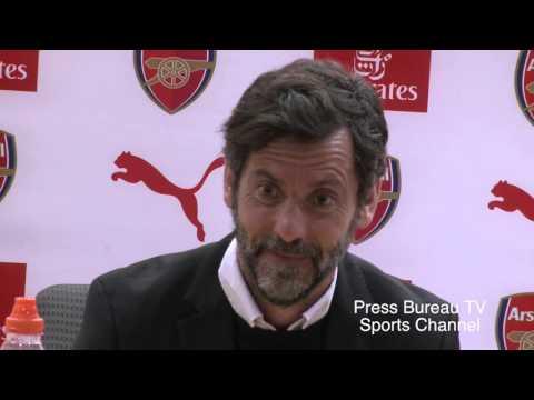 Quique Sánchez Flores reaction Arsenal vs Watford