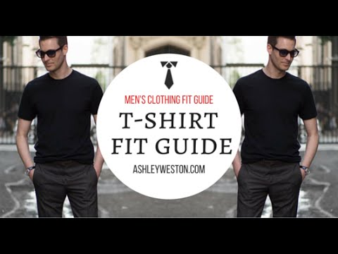 56481646f How Should A T-Shirt Fit - Men's Clothing Fit Guide - Crew Neck, V-Neck,  Designer, Cheap - YouTube