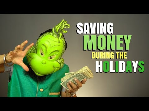 7 Ways To SAVE Money During The Holidays
