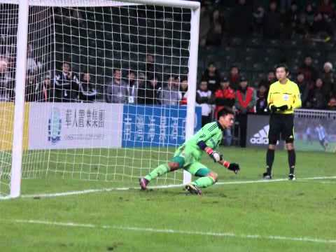 Hong Kong & South China Football Club Goalkeeper  Yapp Hung Fai