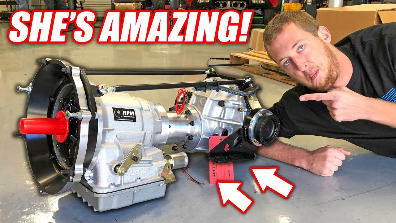 The Auction Corvette's NEW Transmission is INSANE! (Made Free) How Do White PPL Do This???