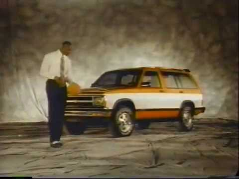 Chevy and Geo 1991 Commercial with Michael Jordan