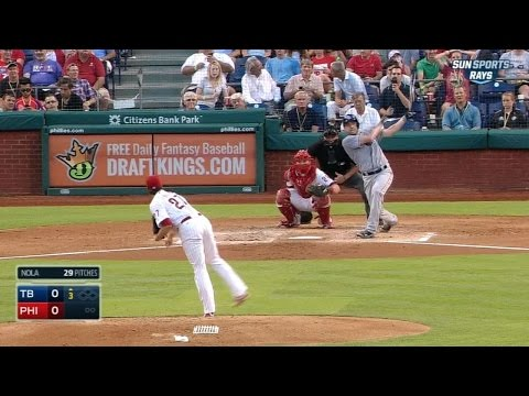 Karns' first career homer puts Rays in front