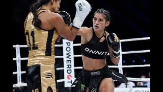 GLORY 71: Anissa Meksen vs. Tiffany van Soest (Super Bantamweight Title Bout) - Full Fight