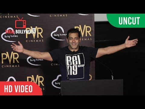UNCUT - PVR Cinemas And Being Human Association For A New Iniative |  Salman Khan