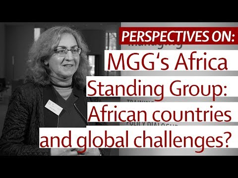 Perspectives on: Africa Standing Group - African countries' role in global challenges?