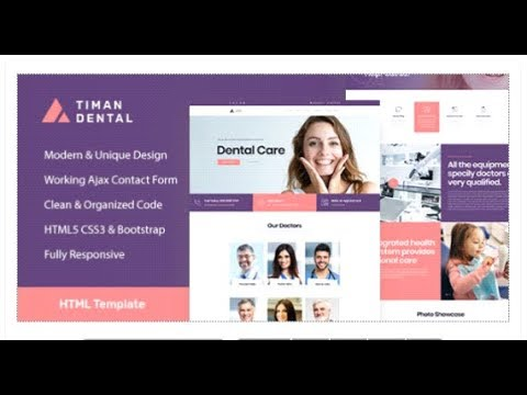 Timan - Dental Clinic & Medical HTML Template   Themeforest Templates