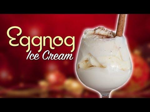 DIY EGGNOG ICE CREAM - Feat. Mr. Pig 2