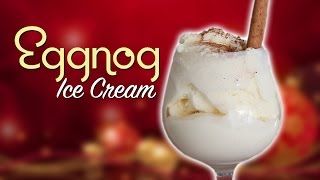 DIY EGGNOG ICE CREAM - Feat. Mr. Pig 2