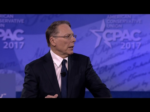 Wayne LaPierre at CPAC 2017: Deceitful CNN