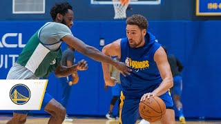 Inside the Dubble: Klay Thompson Returns to the Court at Warriors Minicamp | Sept. 25, 2020
