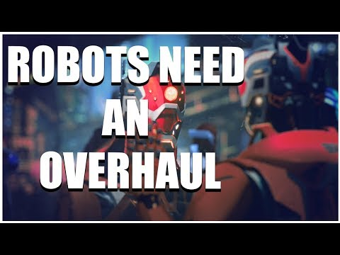 Stellaris - Robots Need A Rework (And A Minor Habitability Nerf)