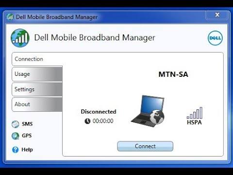 How to install Sim card drivers in Dell Laptop