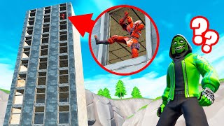 He Was HIDING In A MILE HIGH BUILDING! (Fortnite Snitch Hide And Seek)