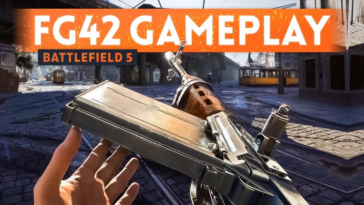 5 MINUTES OF RAW FG42 GAMEPLAY! - Battlefield 5 Rotterdam Map Footage (Open Beta)