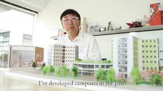 Architect Toyo Ito talks about iCLA new campus