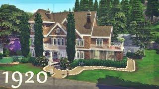CASA DE 1920 │Desafio das Décadas│The Sims 4 (Speed Build)