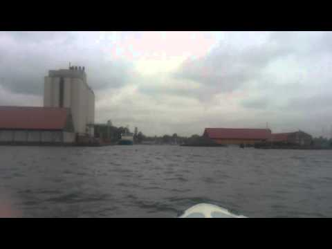 Indsejling til Bandholm Havn