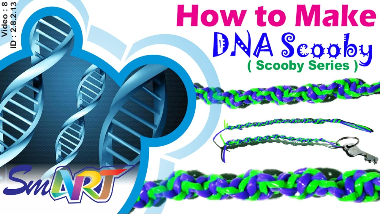 How to make DNA Scooby | Spiral Scooby - YouTube