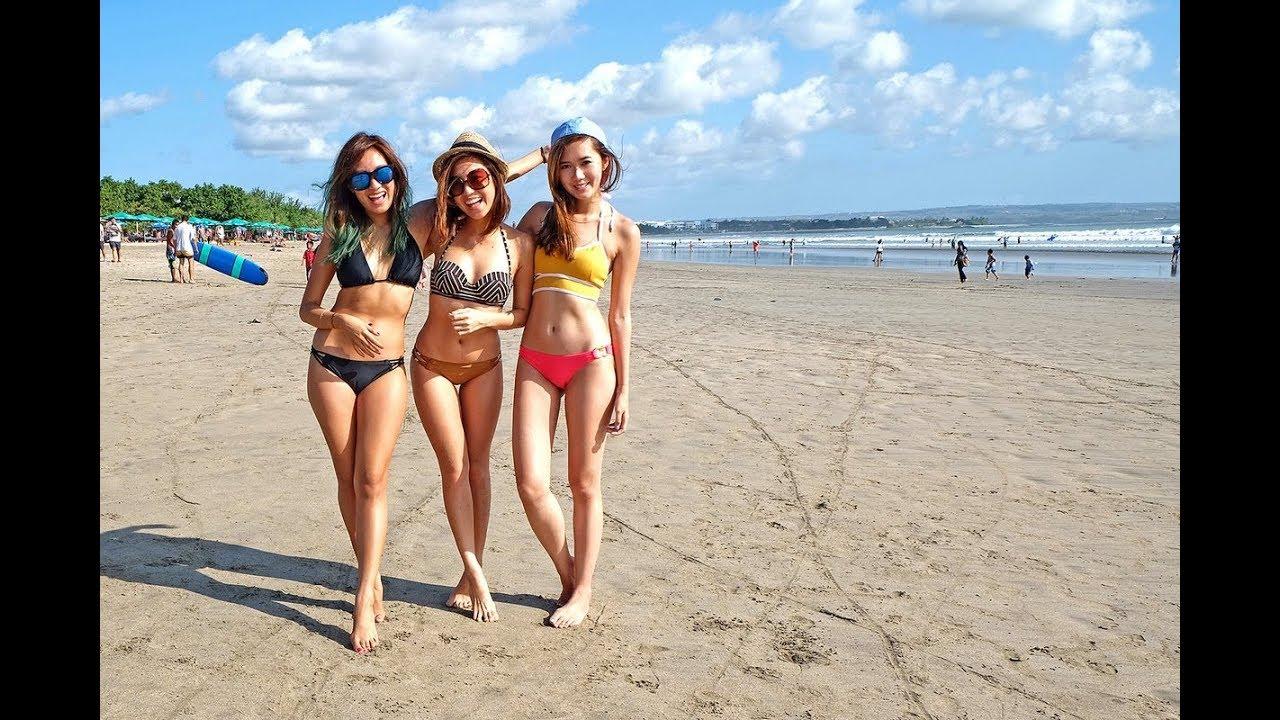 Pantai Kuta Bali Wisata Indonesia Youtube