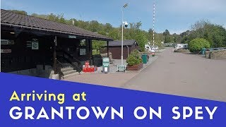 Arriving at Grantown on Spey Campsite | Scottish Highlands and Islands Tour Pt16
