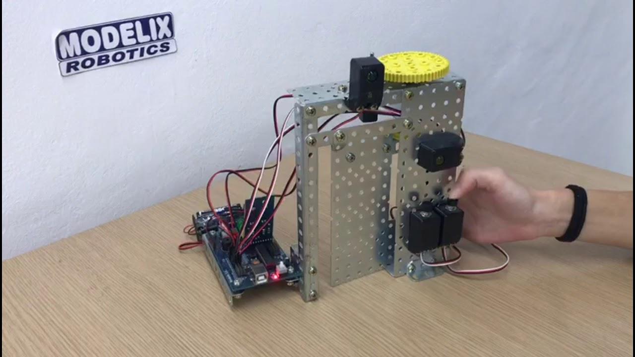 Robótica Educacional - Projeto Portão com Senha