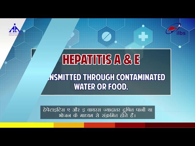 Types of viral Hepatitis in Hindi