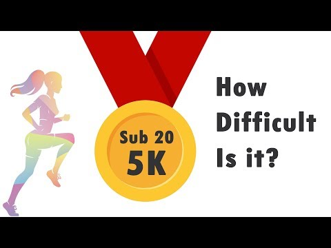 Running a sub 20min 5k: How difficult is it really? (the science and statistics)