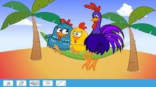 Colorindo a Galinha Pintadinha   Juegos para niños baby game