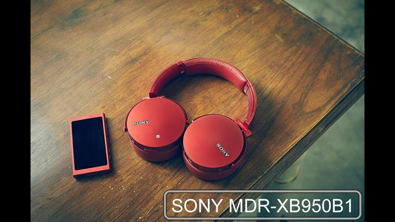 Mở hộp Tai nghe Sony MDR-XB950B1: Bản nâng cấp nhẹ của XB950BT