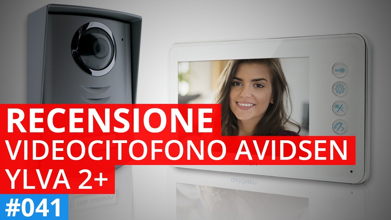 recensione e montaggio videocitofono avidsen ylva 2 youtube. Black Bedroom Furniture Sets. Home Design Ideas