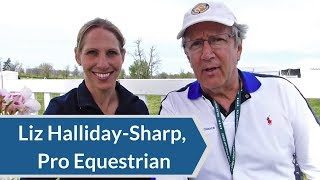 Laser Therapy Review: Liz Halliday-Sharp, Professional Equestrian & Auto Racing Driver