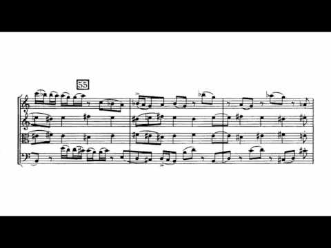 Béla Bartók - String Quartet No. 4 [1/5]