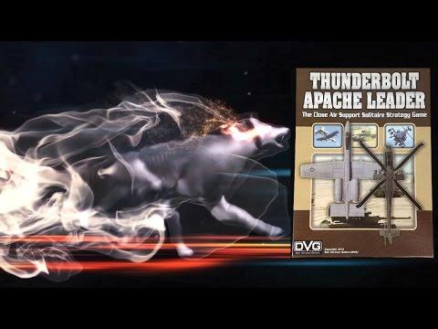 Настольная игра Thunderbolt Apache Leader. Часть 2. Прохождение 1