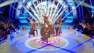 Week Seven Pro Group Dance - Strictly Come Dancing 2015 - BBC One