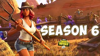 NEW SEASON 6 SKINS, NEW MAP, PATCH NOTES & MORE - Fortnite Battle Royale Season 6 Update
