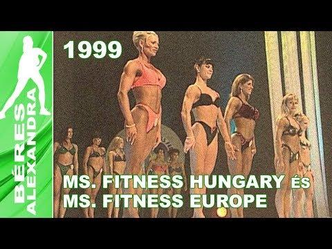 Ms. Fitness Hungary és Ms. Fitness Europe 1999 – ismét Budapesten
